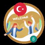 مرحبا بك في تركيا، ونسبقلك بحب
