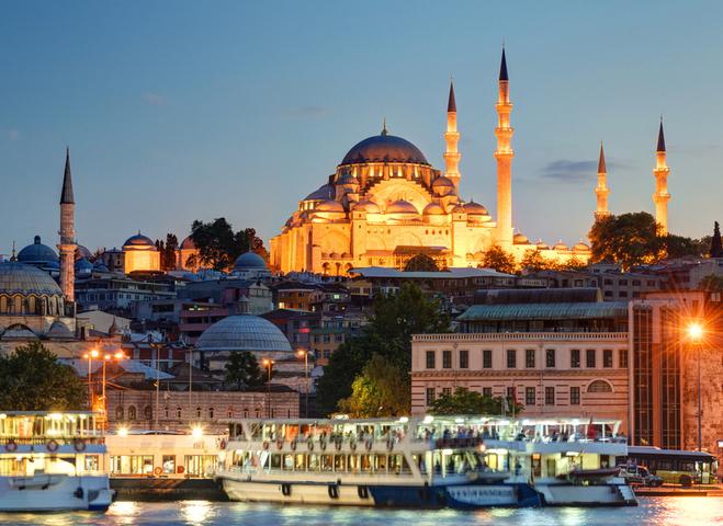 الاماكن السياحية في اسطنبول وأنقرة